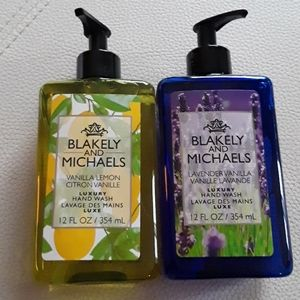 New Blakely and Michael's Luxury Hand wash